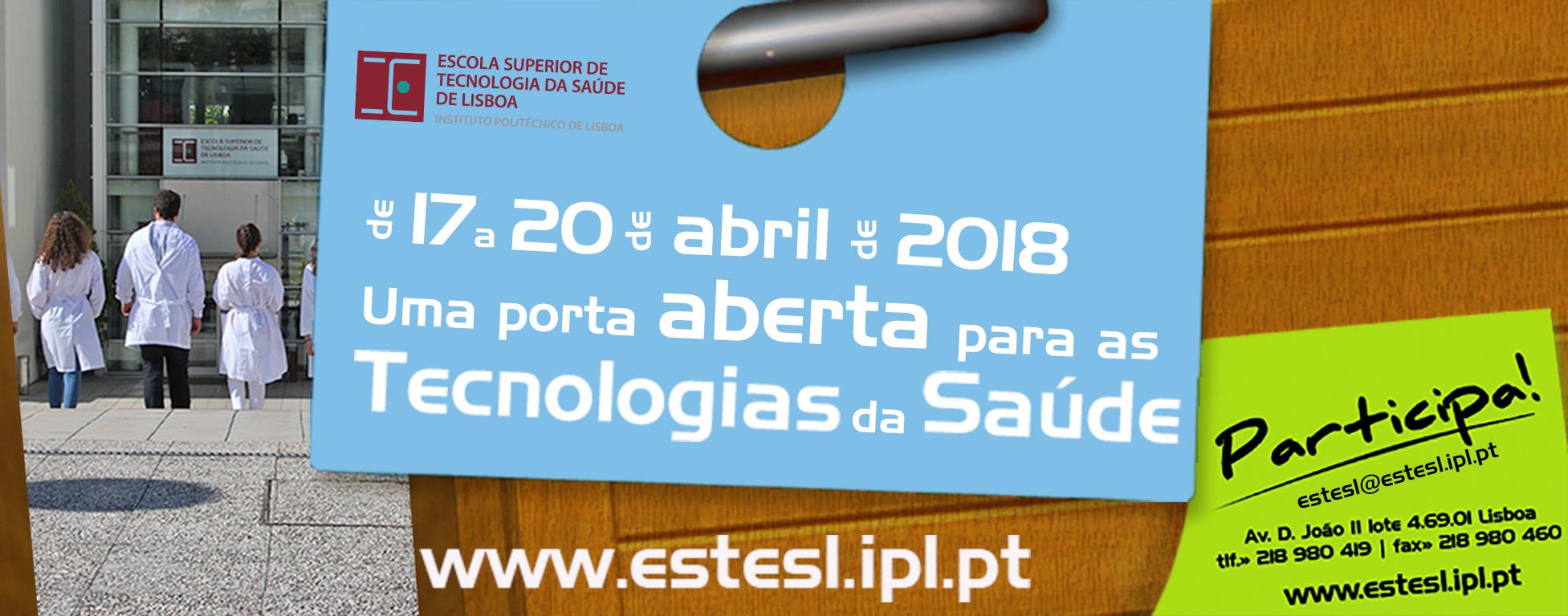 Porta Aberta para as Ciências e Tecnologias da Saúde 2018