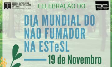 Dia Mundial do Não Fumador na ESTeSL